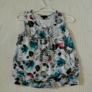 Sleeveless summer top